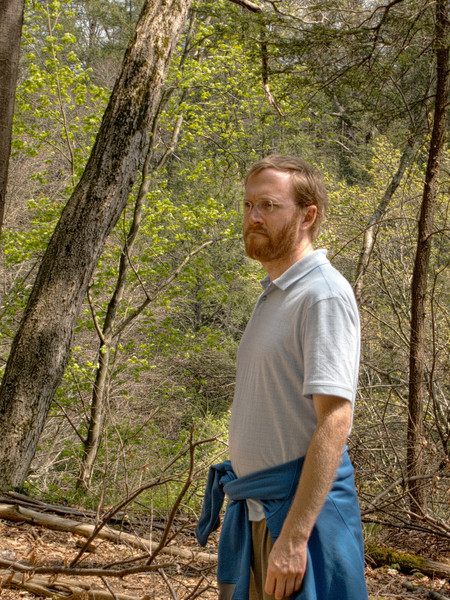 Brian on trail