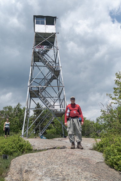 Don at Poke-o-Moonshine fire tower