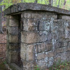 Powder room for dynamite used for blasting in the quarry