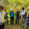 Jane Daniels explained the culture and history of the quarry and its workers
