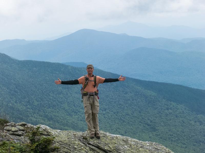Descent on Suset Ridge Trail