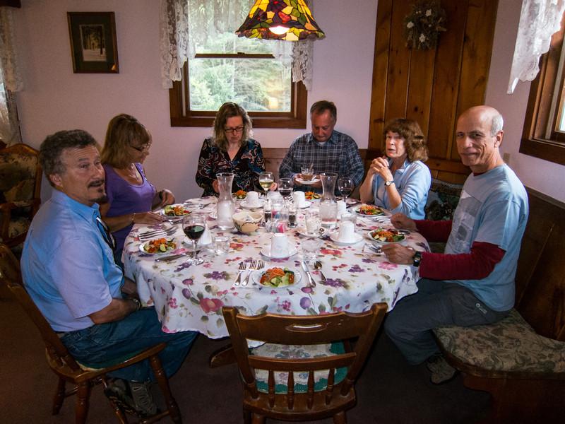 Dinner at Bear's Lair Inn