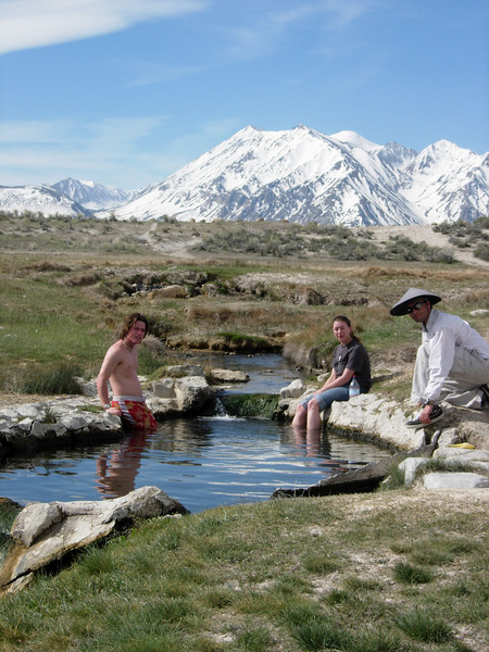 Wild Willy hot spring (not us! ...we went at night, but here's a pic from the daytime)