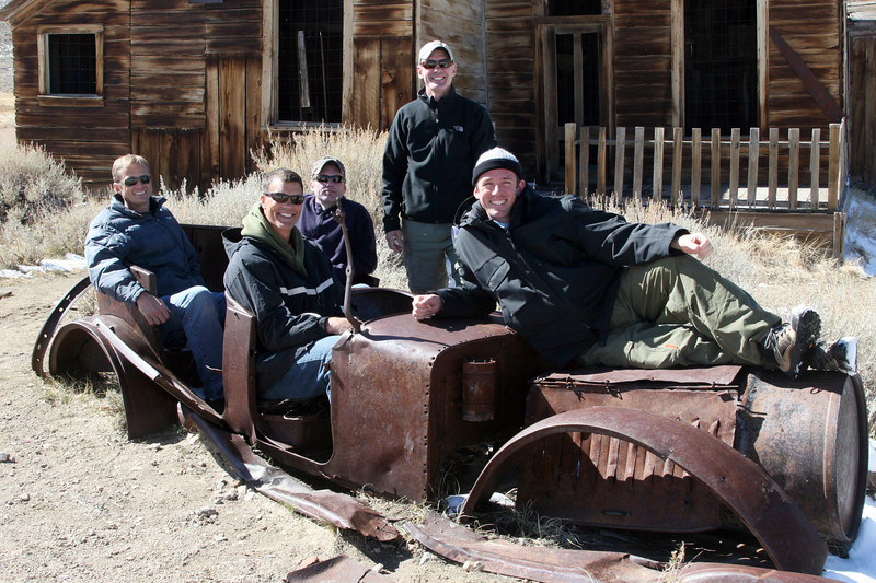 the gang at Bodie