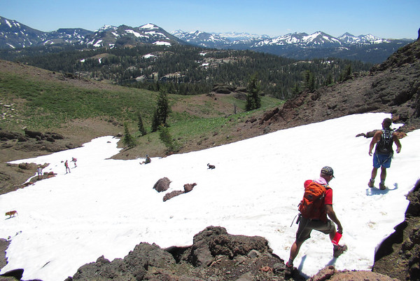 Ebbetts Pass Byway Hike/Kayak: Jul 20-23, 2017