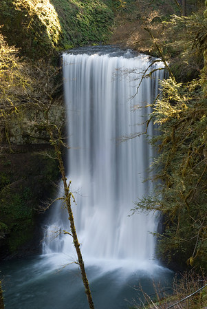 Lower South Falls on the Trail of 10 Falls in Silver Falls State Park