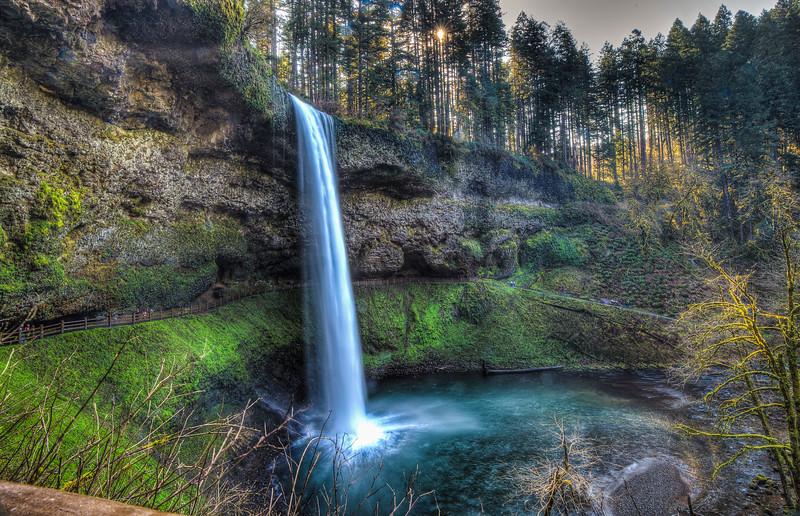 South Falls at Silver Falls State Park