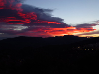 February 26th Sunset Lanjaron