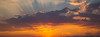 20131003 Sunset at RDU Airport (1842) - cropped to panorama
