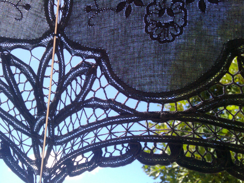 lace and sky
