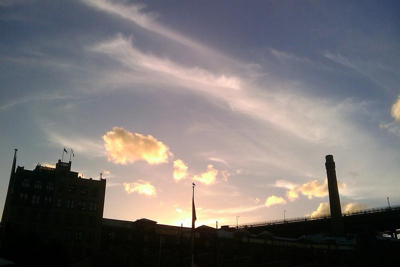 sky over sydney