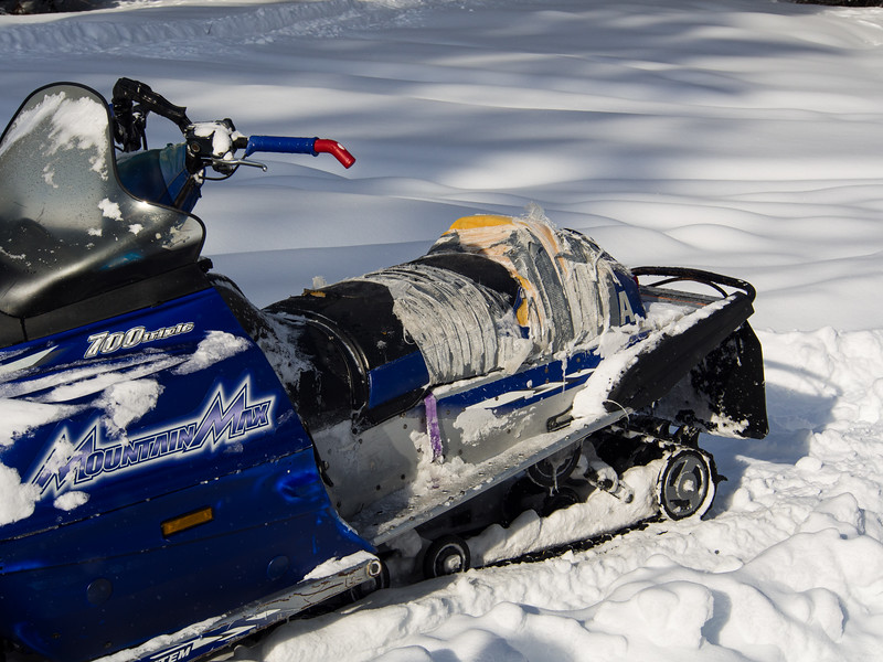 Old School Snowmachine