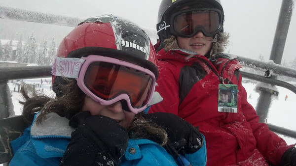 Skiing Winter 2012-13