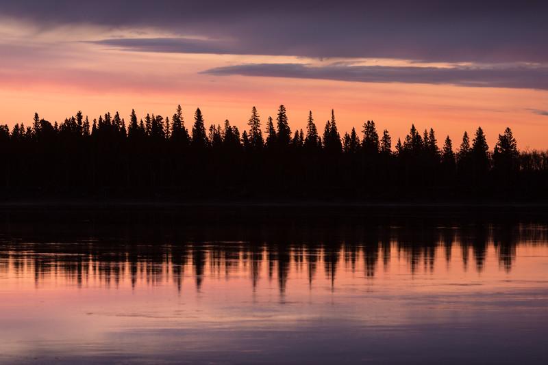 Butler Island reflections before sunrise.