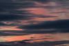 A little bit of colour amidst cloudy skies before sunrise at Moosonee.