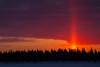 Sky over Butler Island before sunrise.