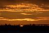 Sunrise at Moosonee 2014 December 21st.