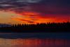 Sky before sunrise over Butler Island.