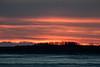 Sky before sunrise across the Moose River.