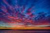 Sky before sunrise over the Moose River at Moosonee, Ontario. HDR Efx dark.