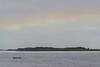 Something like a rainbow across the Moose River.