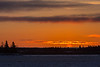 Sunrise above Moose Factory Island.