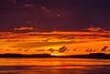 Almost sunrise down the Moose River at Moosonee.