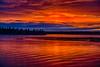 Looking across the Moose River towards Butler Island before sunrise. HDR efx dark.