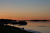 View down the Moose River just before sunrise 2013 June 21st.