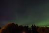 Aurora borealis over Moosonee.