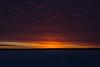 Sky before sunrise at Moosonee. Dark HDR sequence shot.
