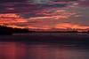 Looking down the Moose River at Moosonee before sunrise. Noise reduced.