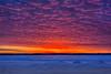 Sky before sunrise at Moosonee. HDR Efx darj,