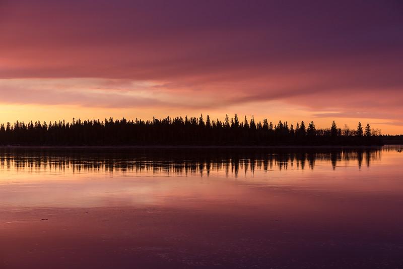 Butler Island around sunrise.