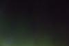 Sky over Moosonee with aurora borealis.