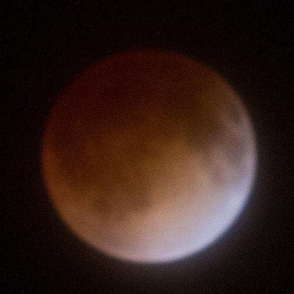 Lunar eclipse.