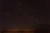Night sky over Moose Factory from Moosonee.