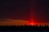 Dark exposure of sky over Butler Island just before sunrise.