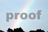 Rainbow on Miranda's birthday July 6 2005