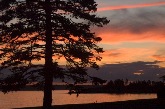 Ocean Point Sunset, July 2007