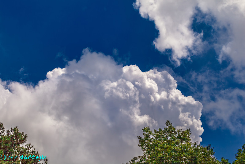 beautiful sky today<br /> I just love capturing clouds. May 15, 2012