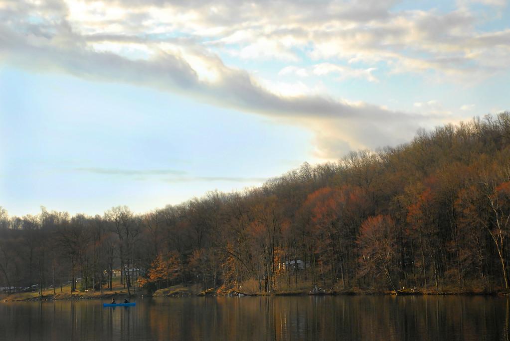 Opening Day.  Keystone Lake, Pa