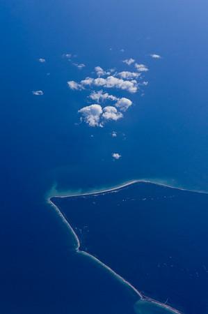 Cloud,Sea and Land
