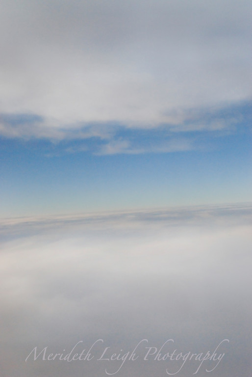Caught between two clouds