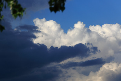 Vihar előtti ég
