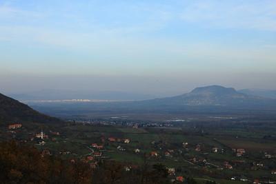 View from Batsányi Lookout of Balatongyörök — Kilátás a balatongyöröki Batsányi-kilátóról