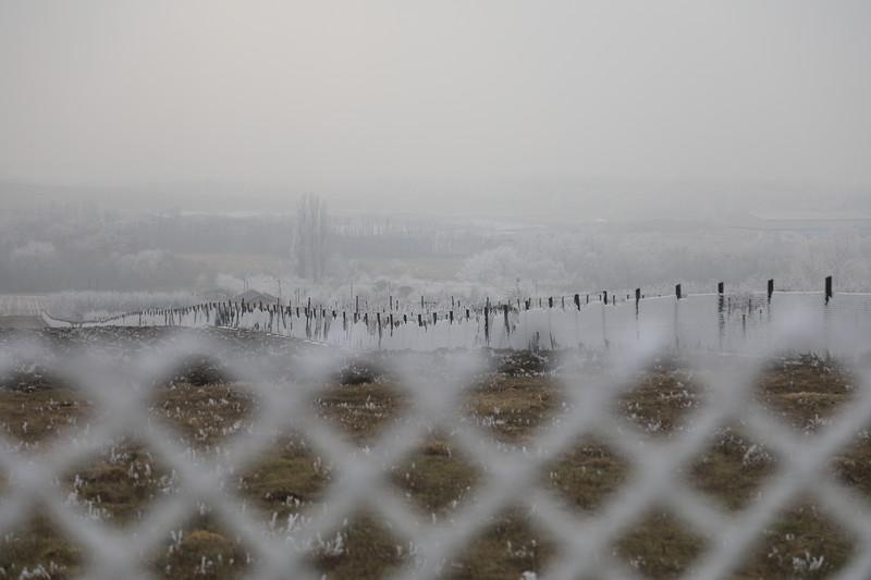 Dérütötte kerítés