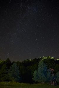 Csillagos ég Parádon