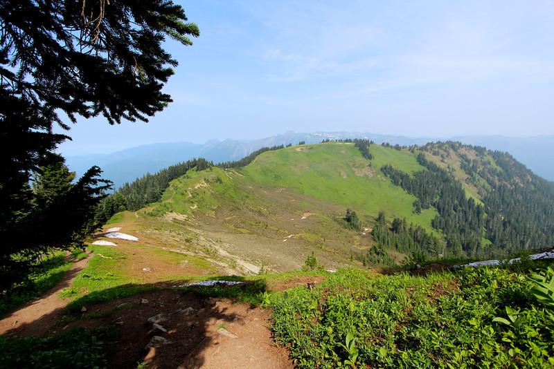 Ridge hiking is tops!