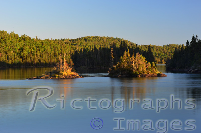 Lake Superior, Marine Conservation Area, Lawrence Bay, Slate Islands, <br /> Terrace Bay, Ontario, Canada